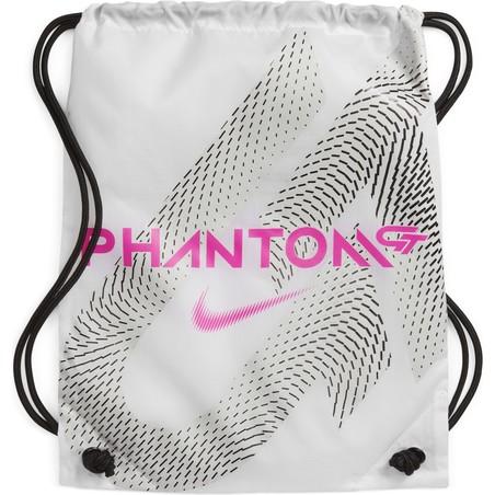 Nike Phantom GT Elite SG-Pro Anti-Clog basse blanc rose