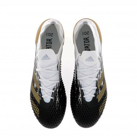 adidas Predator Mutator 20.1 SG basse blanc or
