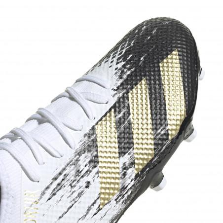 adidas Predator 20.3 FG basse blanc or