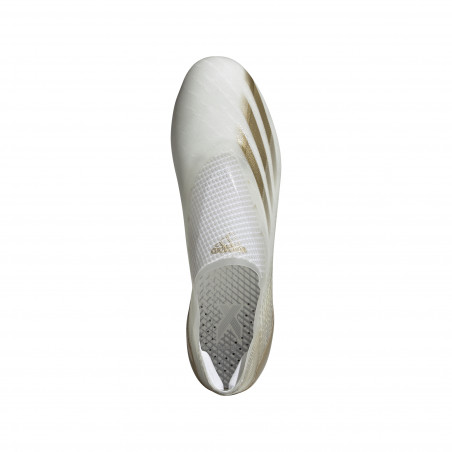 adidas X Ghosted + AG blanc or