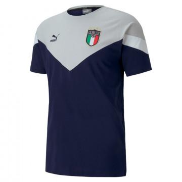 T-shirt Italie Iconic bleu gris 2020
