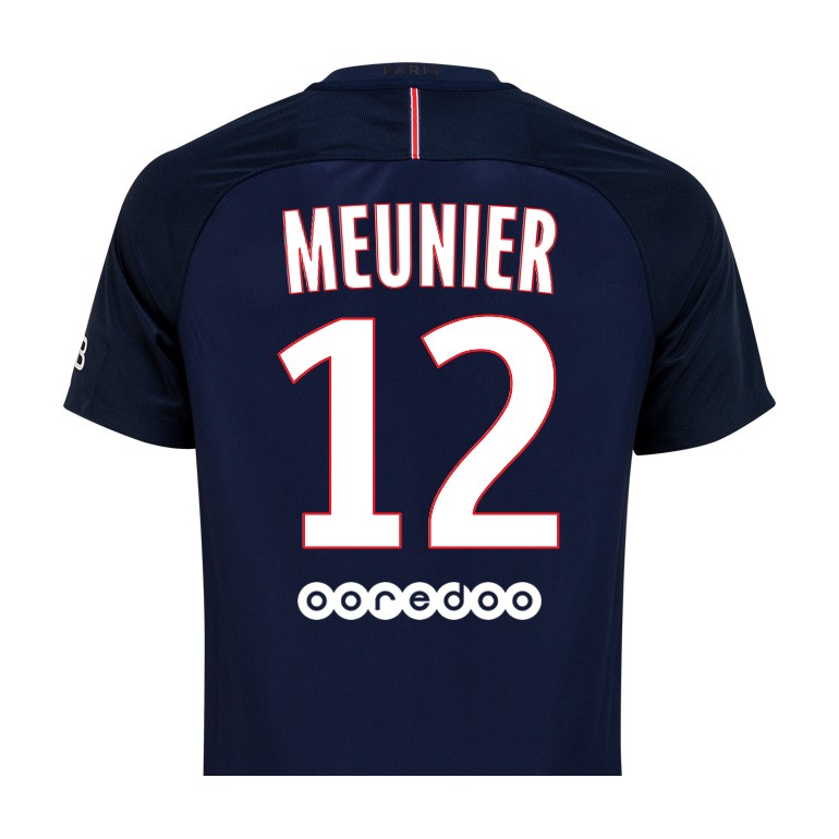 Maillot Meunier PSG domicile 2016 - 2017