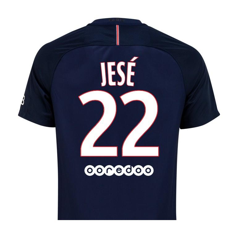 Maillot Jesé PSG domicile 2016 - 2017