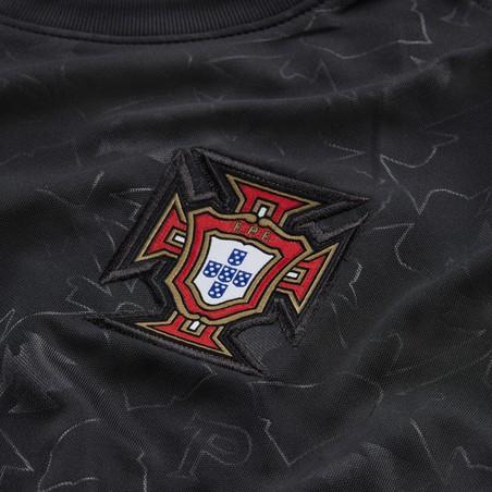 Maillot avant match Portugal noir 2020