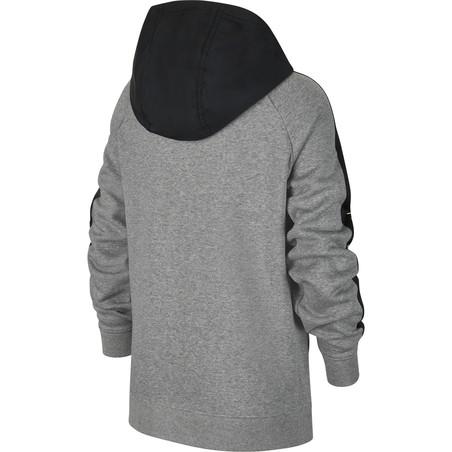 Veste survêtement Nike Mbappé Fleece gris noir