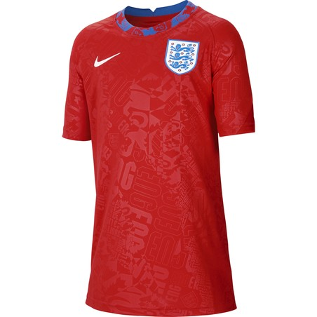 Maillot avant match junior Angleterre 2020