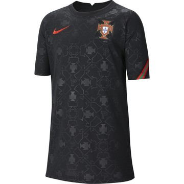 Maillot avant match junior Portugal noir 2020