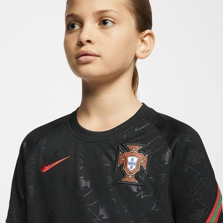Maillot avant match junior Portugal noir 2020