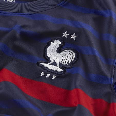 Maillot junior Equipe de France domicile 2020 + flocage