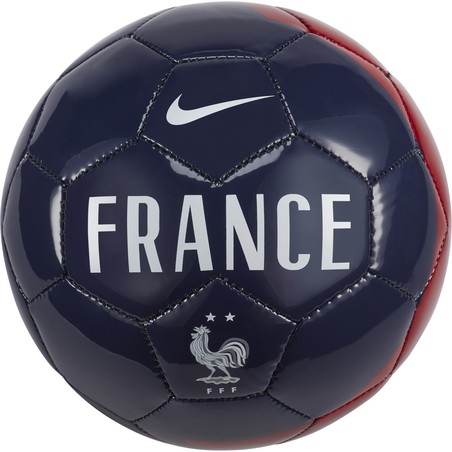 Mini ballon Equipe de France bleu rouge 2020