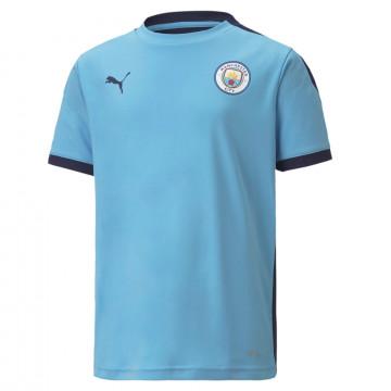 Maillot entraînement junior Manchester City bleu 2020/21