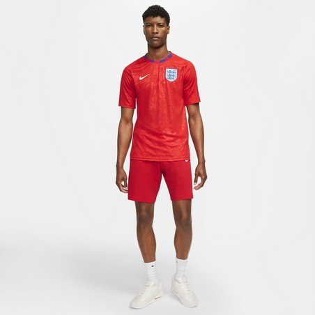 Maillot avant match Angleterre rouge 2020