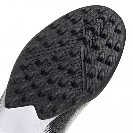 adidas X GHOSTED.3 LaceLess Turf blanc noir
