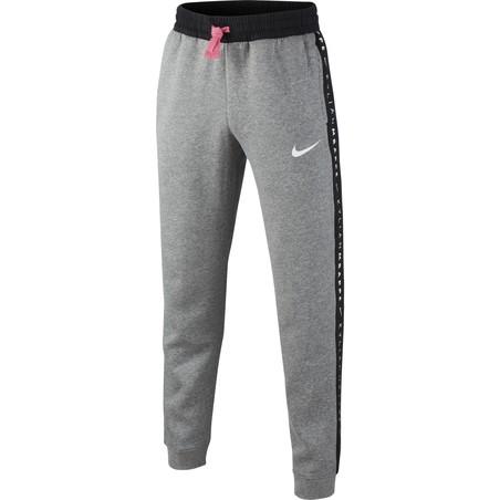 Pantalon survêtement Nike Mbappé Fleece gris 2020/21