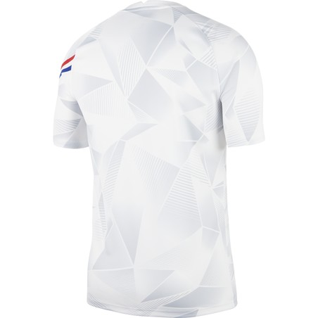 Maillot avant match Pays Bas blanc 2020