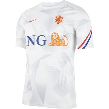 Maillot avant match Pays Bas blanc 2020