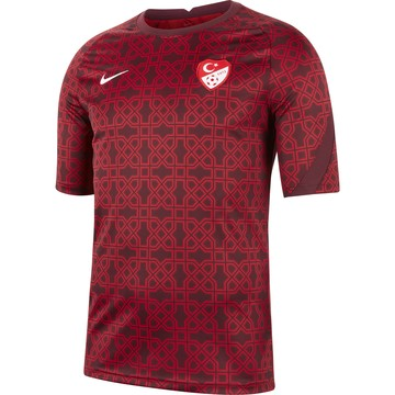 Maillot avant match Turquie rouge 2020