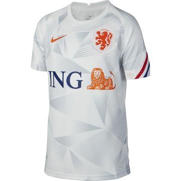 Maillot avant match junior Pays Bas blanc 2020