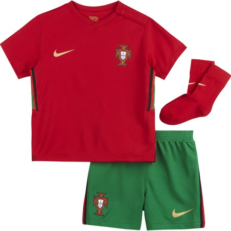 Tenue bébé Portugal domicile 2020