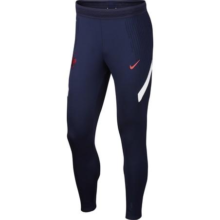 Pantalon survêtement Equipe de France VaporKnit bleu 2020