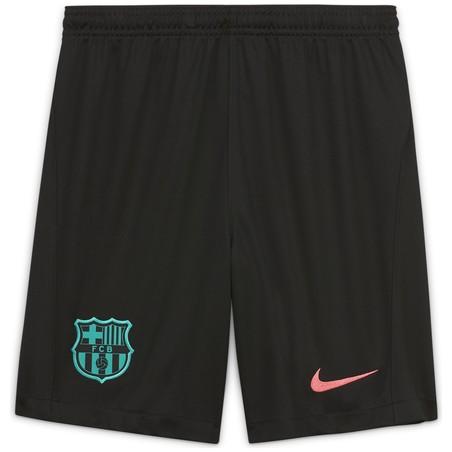 Short junior FC Barcelone third noir 2020/21