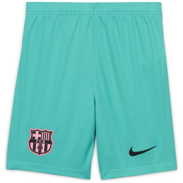 Short junior FC Barcelone third vert 2020/21