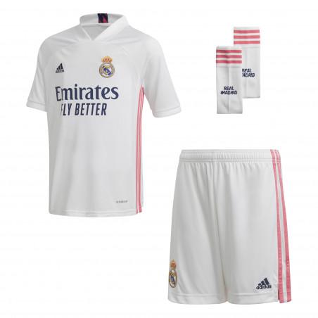 Tenue enfant Real Madrid domicile 2020/21