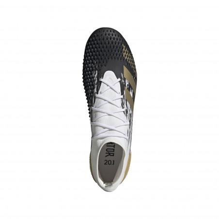 adidas Predator Mutator 20.1 FG blanc or