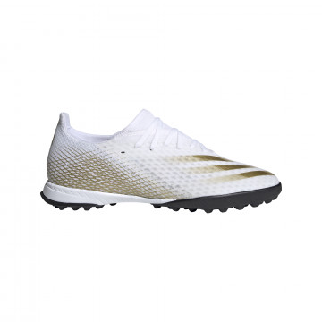 adidas X GHOSTED.3 Turf blanc or