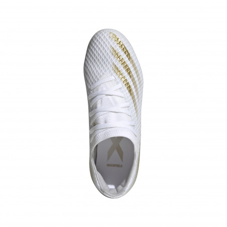 adidas X junior GHOSTED.3 MG blanc or