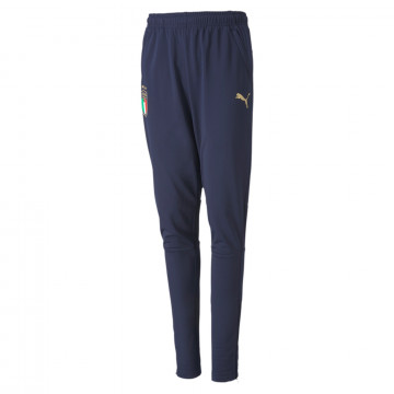 FIGC TRAIN PANT JR.PEACOAT