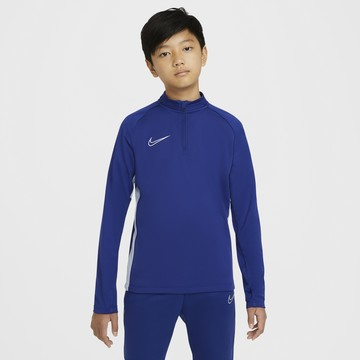 Sweat zippé junior Nike academy bleu