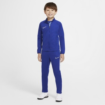 Ensemble survêtement junior Nike Academy bleu blanc