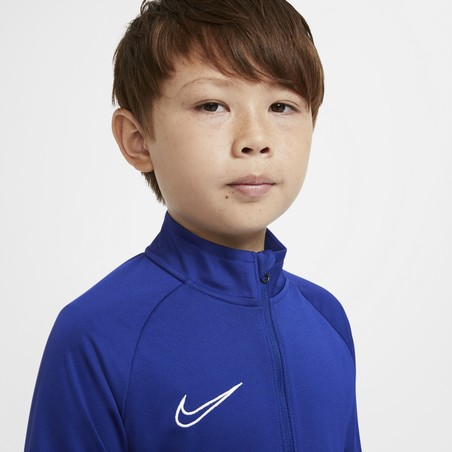 Ensemble survêtement junior Nike Academy bleu blanc