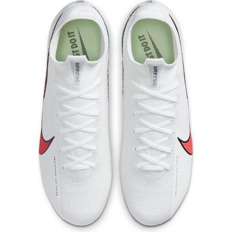 Nike Mercurial Superfly VII Elite FG blanc rouge