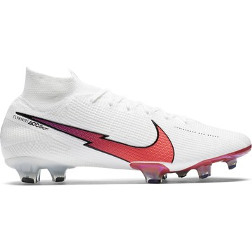 Nike Mercurial Superfly VII Elite FG blanc rouge