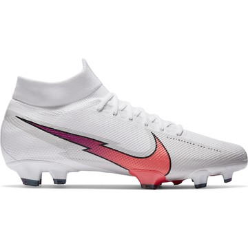 Nike Mercurial Superfly VII Pro FG blanc rouge