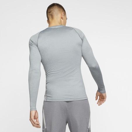 Sous-maillot manches longues Nike Pro gris