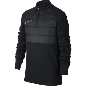 Sweat zippé junior Nike Academy Pad noir