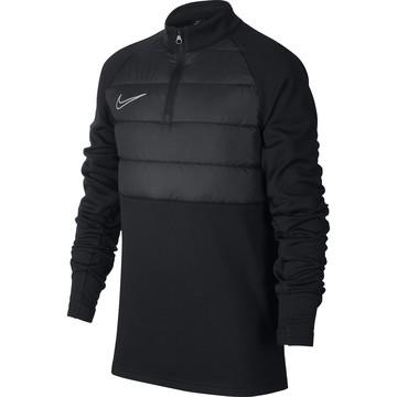 Sweat zippé junior Nike Academy Pad noir
