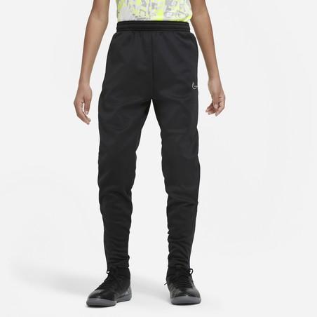 Pantalon survêtement junior Nike Therma noir jaune