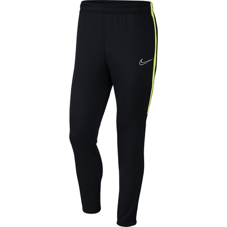 Pantalon survêtement Nike Therma Academy noir jaune