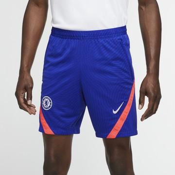 Short entraînement Chelsea bleu rouge 2020/21