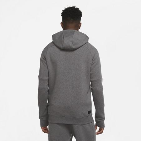 Sweat à capuche Tottenham GFA Fleece gris 2020/21