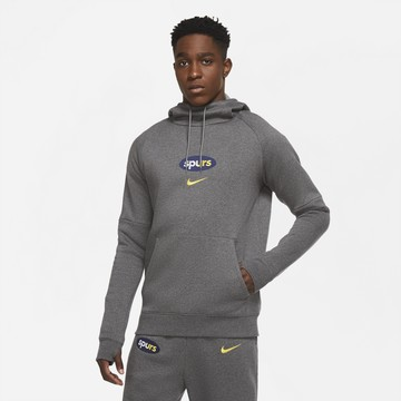 Sweat à capuche Tottenham GFA Fleece gris 2020/21