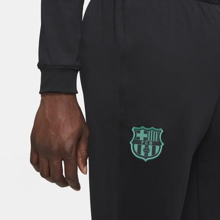 Ensemble survêtement FC Barcelone noir rose 2020/21