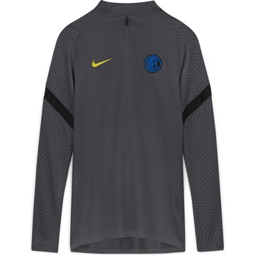 Sweat zippé Inter Milan gris 2020/21