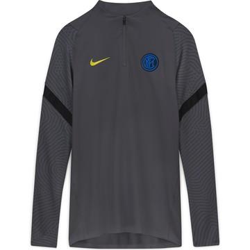 Sweat zippé Inter Milan gris 2020/21
