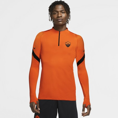 Sweat zippé AS Roma orange 2020/21