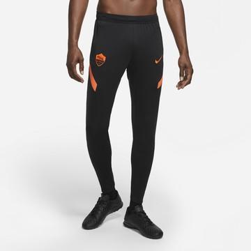 Pantalon survêtement AS Roma noir orange 2020/21